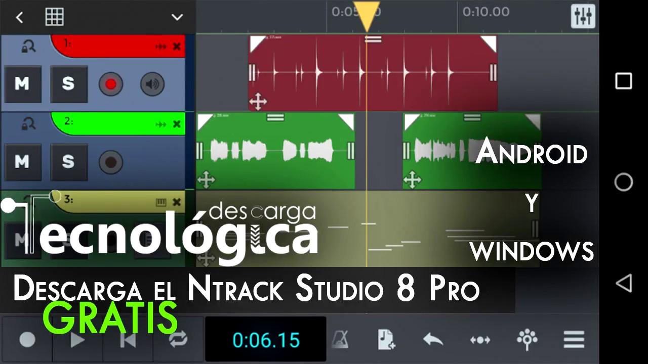 Download N-Track Studio 8 Pro Free | Recording studio Android and Windows |  Full Apk Pro