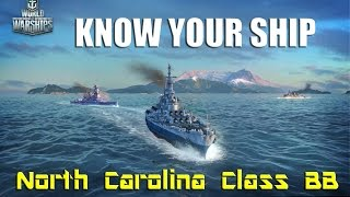 World of Warships - Know Your Ship! - North Carolina Class Battleship