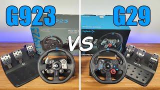 Logitech G923 vs G29 Is It Worth Upgrading?