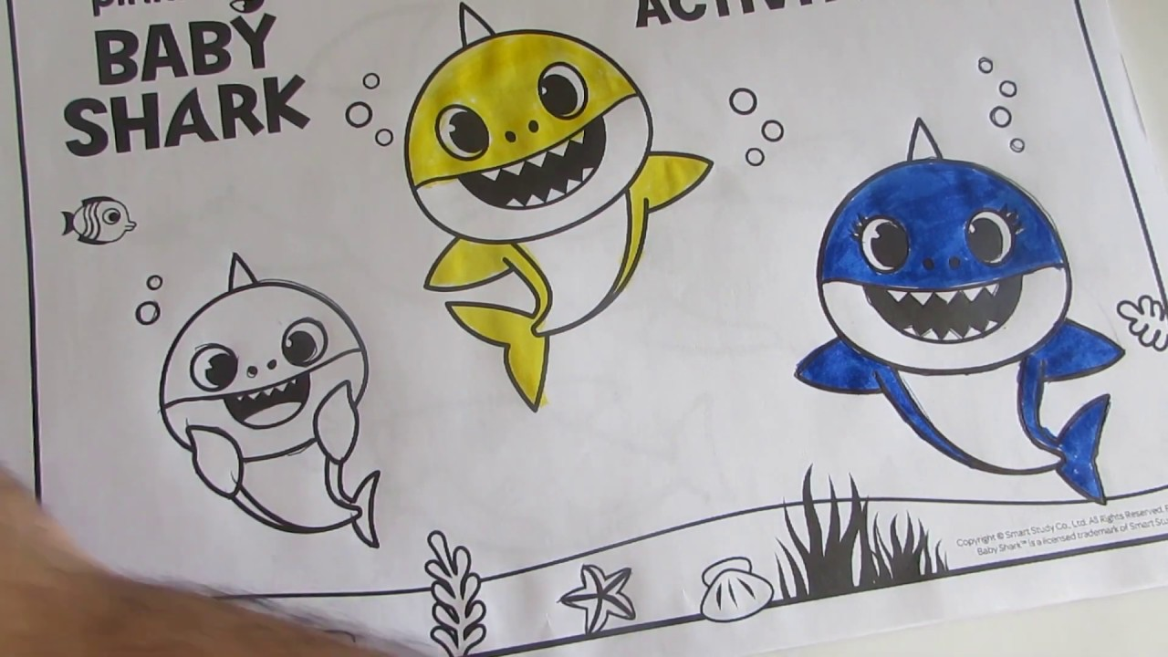 Download Baby Shark's Coloring Fun, Baby Shark Coloring Book, Toy Show,Toy Show for Children