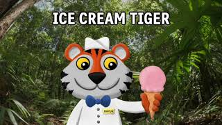 Ice Cream Tiger - Lyric Video - Parry Gripp