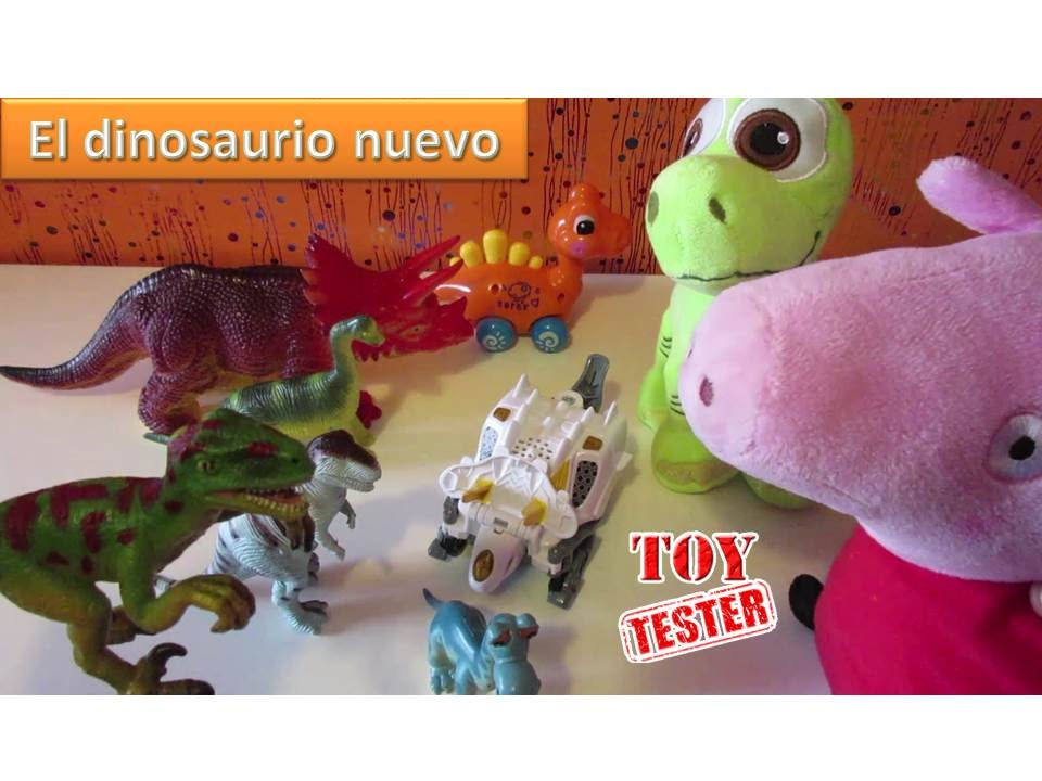 Juguetes de dinosaurio para ni os juegan con peppa pig - Juguetes nuevos para ninos ...