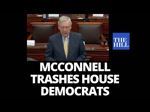 Mitch McConnell TRASHES House Democrats
