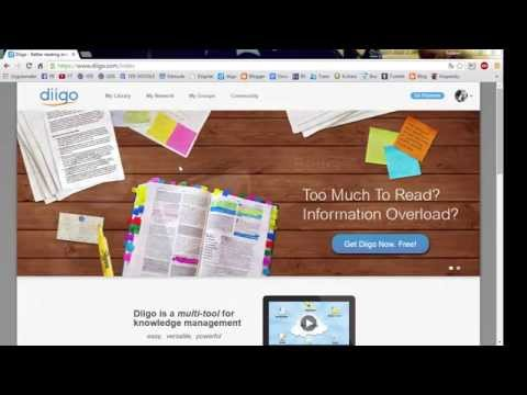 Social Bookmarking with Diigo
