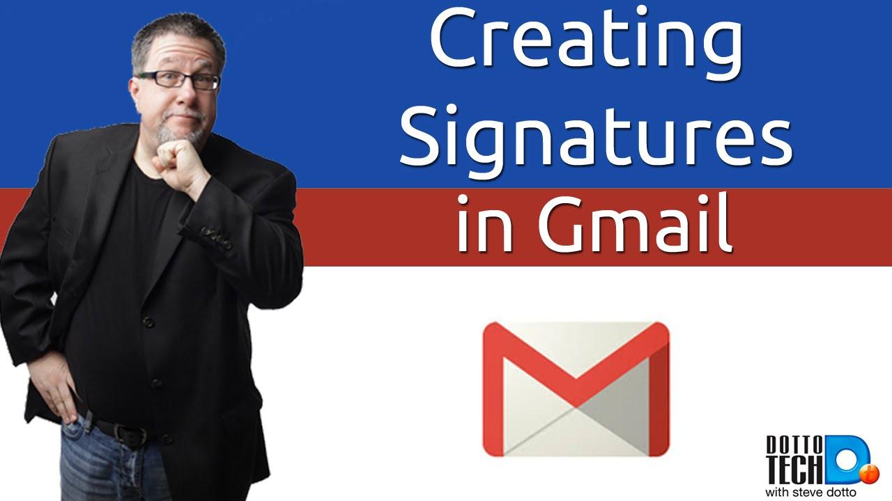 Gmail Signatures, Basic Gmail Tips