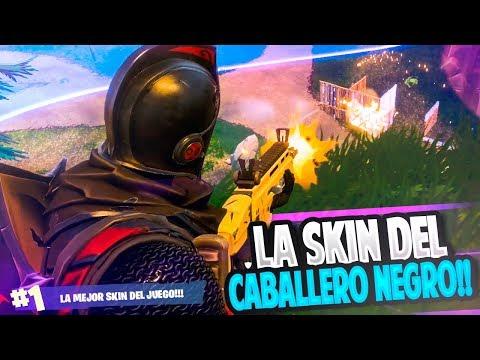 ESTRENAMOS LA SKIN DEL CABALLERO NEGRO!! | FORTNITE: Battle Royale | Rubinho vlc