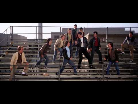 Grease - Summer Nights [1080p] [Lyrics]