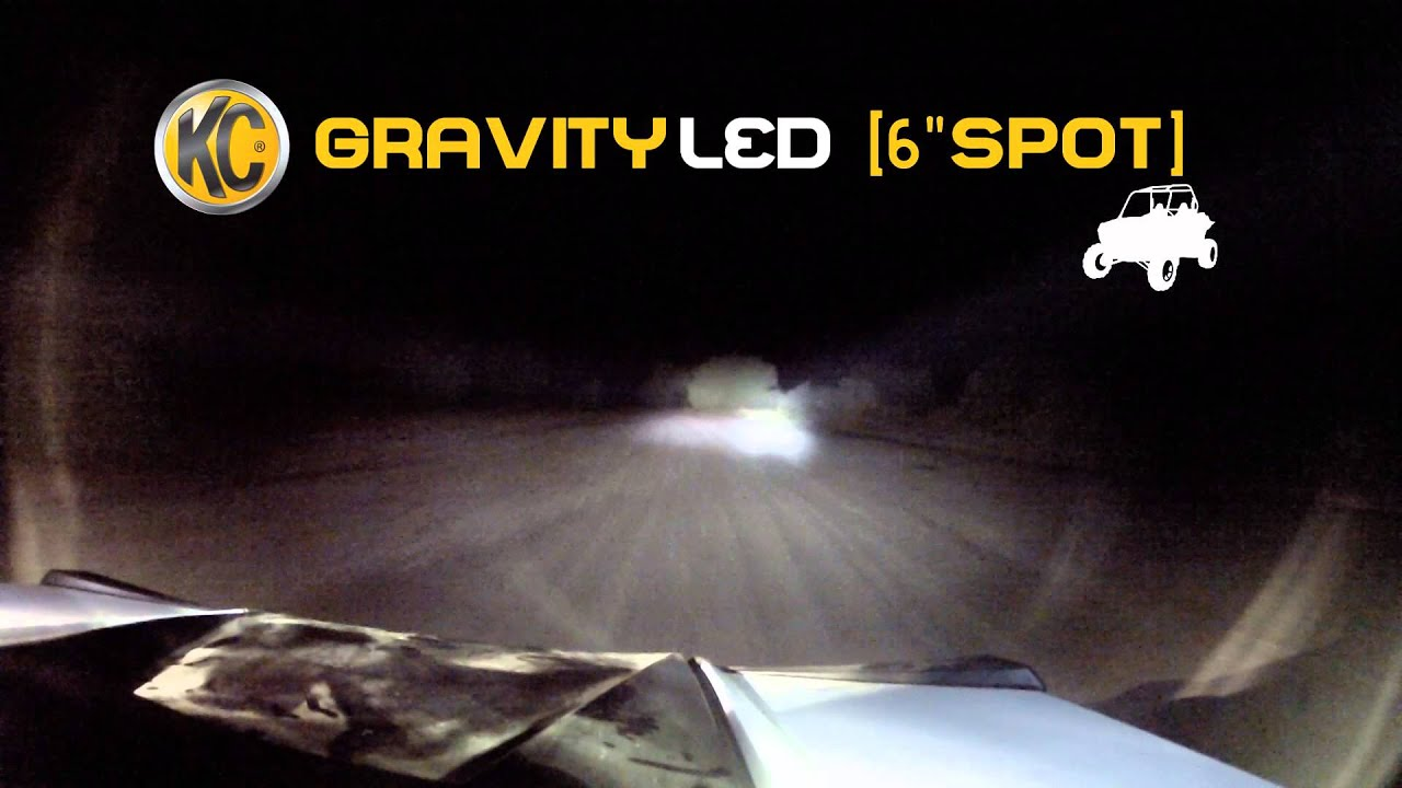 KC HiLiTES 652 Gravity G6 20W LED Daylighter Driving Light System