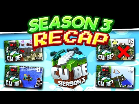 Minecraft Cube SMP S3 Recap [Map Download]