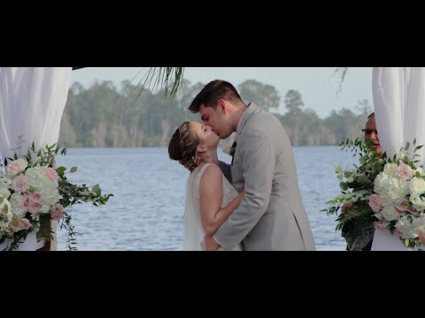 The Most Beautiful Lake Wedding At Paradise Cove In Orlando.