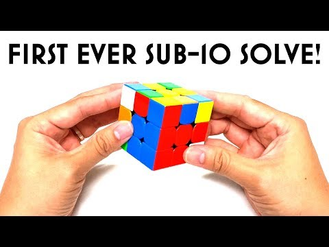 My First Sub-10 Solve Reconstructed! (9.92s | 3x3 Rubik's Cube)