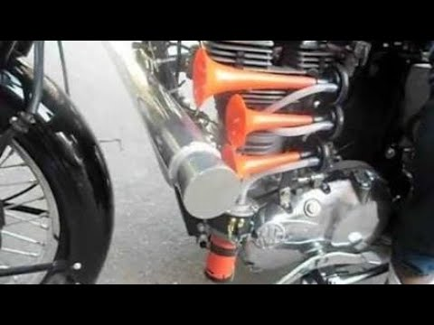 Air pressure horns for bikes & scooters