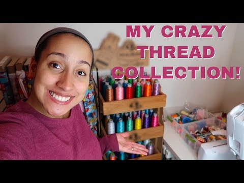 MUST HAVE EMBROIDERY THREAD! Colors And Embroidery Thread Brands! Etsy Seller