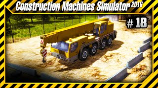 Construction Machines Simulator 2016 - Placas de Concretos no Aeroporto