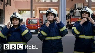 The woman fighting fire and tradition - BBC REEL