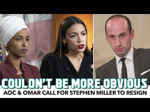 AOC & Omar Call For Stephen Miller To Resign Following Jarring Investigation
