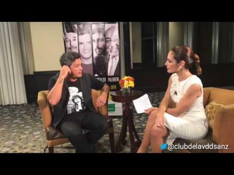 Entrevista realizada por Mavila Huertas a Alejandro Sanz - 19-10-2016