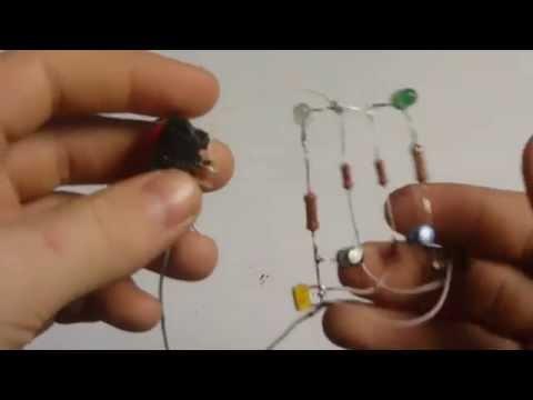 Простые электронные схемы и схемы для начинающих