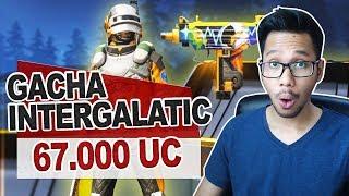 Gacha 67000 Uc Skin M24 Intergalatic Suit Pubg Mobile Indonesia Youtube