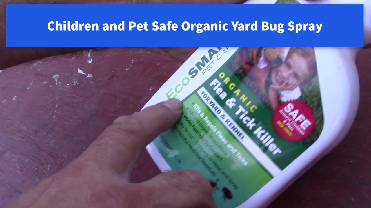 Organic Yard Bug Spray Children and Pet Safe, EcoSmart ...