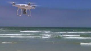 Hai-Alarm dank Drohne