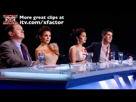 Rebecca Ferguson sings Amazing Grace - The X Factor Live Semi-Final - itv.com/xfactor
