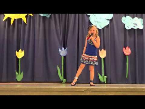 Hailee's Firework Talent Show Performance