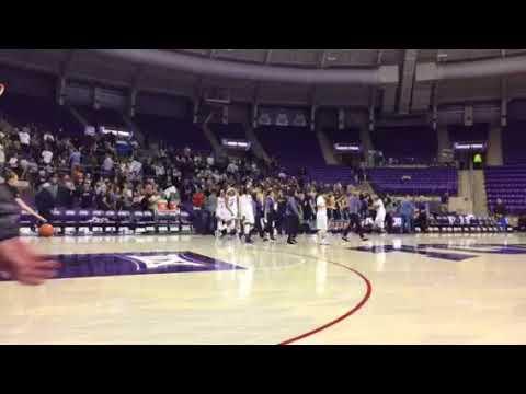 Yale Women's Basketball Celebrates 82-72 Win at TCU