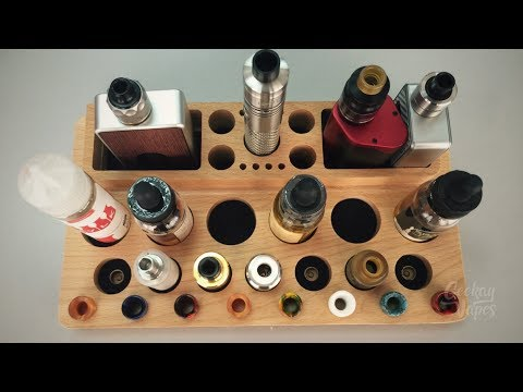 Cheap Vape Stand Made of Wood - VPDam