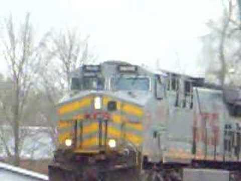 NS 436 (4-13-08) KCS COAL TRAIN TO DECATUR!!!!!!!!!!!!!!!!!