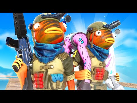 I STREAM SNIPED FASHION SHOWS WITH A FISH ARMY SKY BASE!