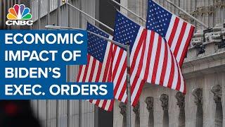 The impact of President Joe Biden's executive orders on the economy