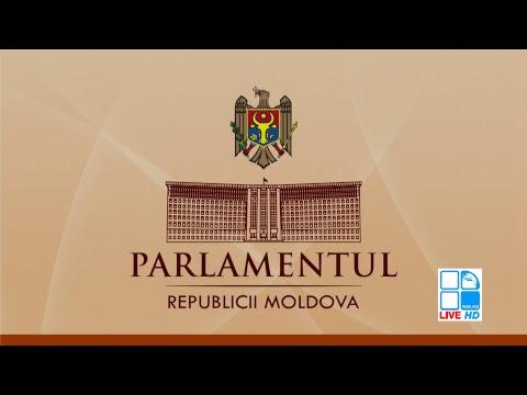Ședința Parlamentului Republicii Moldova