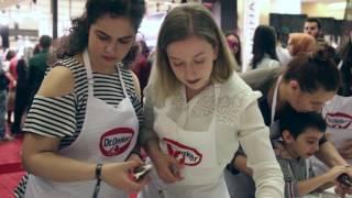 Dr. Oetker - Ankara Kahve & Çikolata Festivali - Kek burger Atölyesi