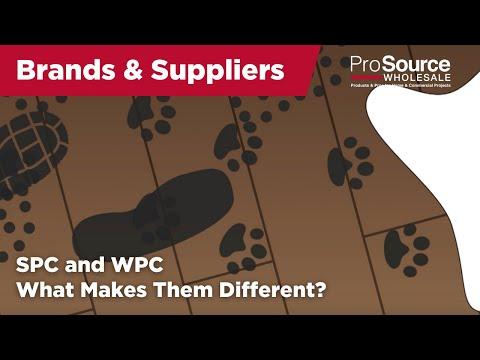 SPC vs. WPC | COREtec Luxury Vinyl Flooring | ProSource Wholesale®