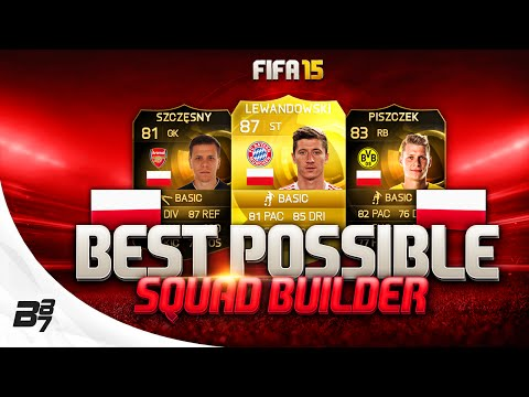 FIFA 15 | BEST POSSIBLE POLAND SQUAD BUILDER w/ LEWANDOWSKI AND IF PISZCZEK