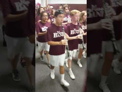 Plano Senior High School Band March Through Campus