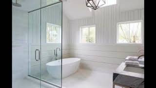 Shiplap Walls For Modern Bathroom Homes,Shiplap Boards Ideas,Unique Shiplap Bathroom Ideas #2