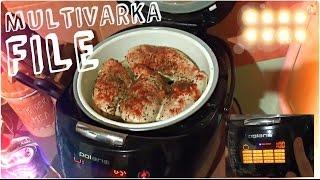 Эксклюзивный рецепт | Курица в мультиварке на пару | Нежное филе курицы 2015 HD