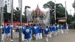 2012年7月14日に執り行われました、加東市、八坂神社の祇園祭です。 東古瀬屋台は明治中期に曽根から購入したと云われています。 梵天は前後が...