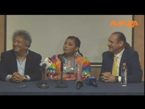Rueda De Prensa India Yuridia, Teo González Y Jorge Falcón Sobre Sus Próximas Actividades