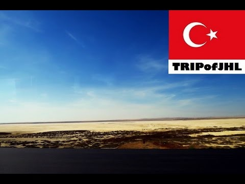 [TRIPofJHL] Traveling on a bus between Ankara and Lake Tuz