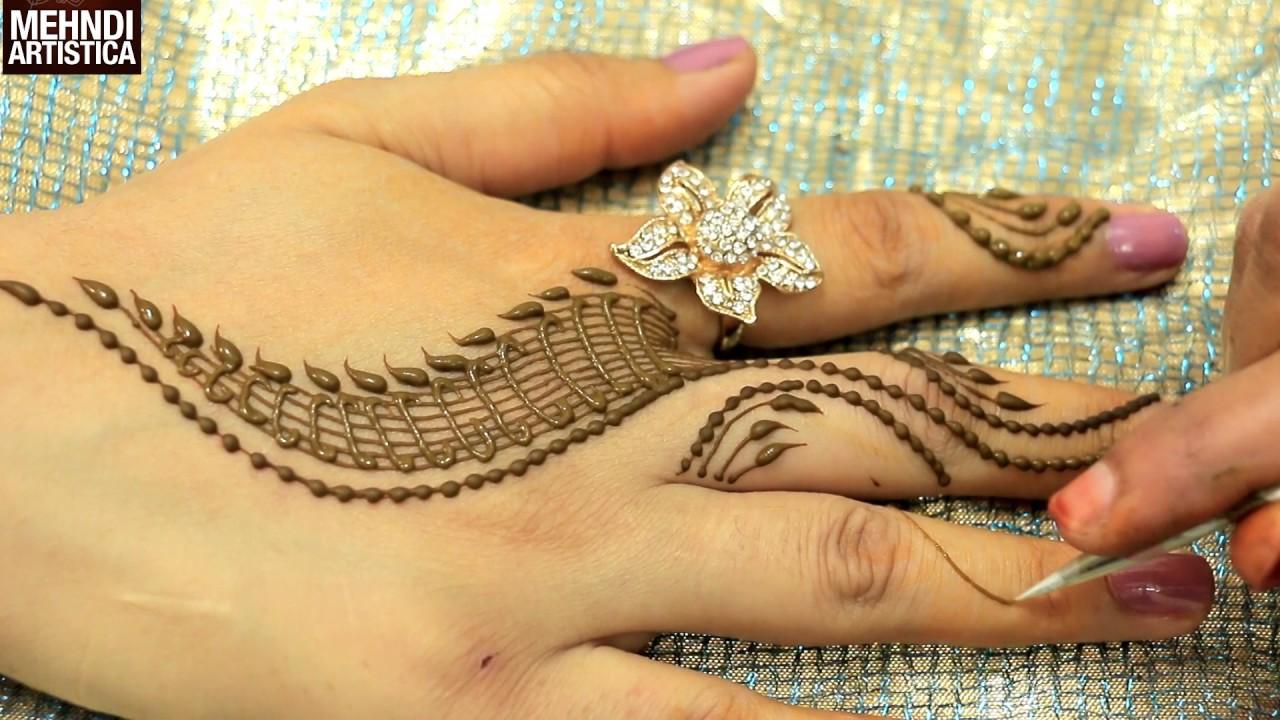 Mehndi design 2017 facebook - Romantic Girlish Mehndi Designs Within 2 Mints Trendy Henna Mehendi Art Tattoo Mehndiartistica Youtube