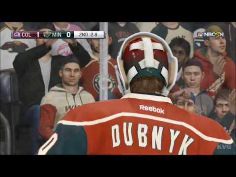 NHL 17 - Colorado Avalanche vs Minnesota Wild | Gameplay (HD) [1080p60FPS]