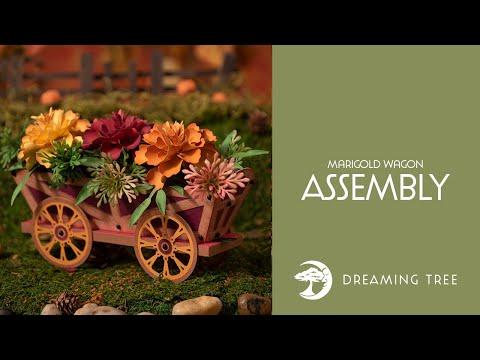 SVG File - Marigold Wagon - Assembly Tutorial