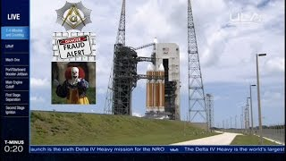 Launch of Worlds Largest Rocket Delta IV Heavy with NROL 37