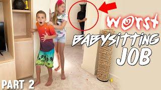 Intruder! The Cursed Babysitter Skit Ep. 2