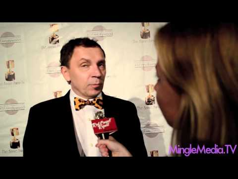 Andreas Deja at the 39th Annual Annie Awards Red Carpet