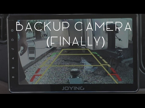 How to connect back up camera