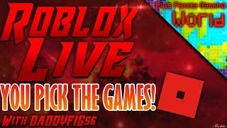 Roblox #69 et Fortnite ( EN DIRECT ( VOUS CHOISISSEZ LES JEUX! Pratique Fortnite